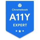 Chromebook A11Y Expert digital badge